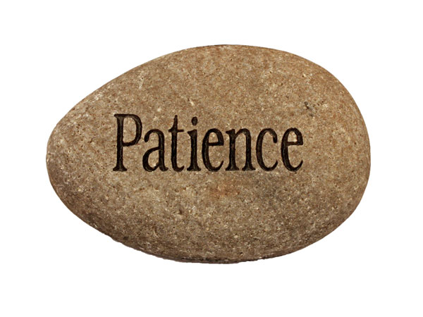 One Word: Patience