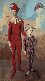 Pablo_Picasso,_1905,_Acrobate_et_jeune_Arlequin_(Acrobat_and_Young_Harlequin),_oil_on_canvas,_191.1_x_108.6_cm,_The_Barnes_Foundation,_Philadelphia